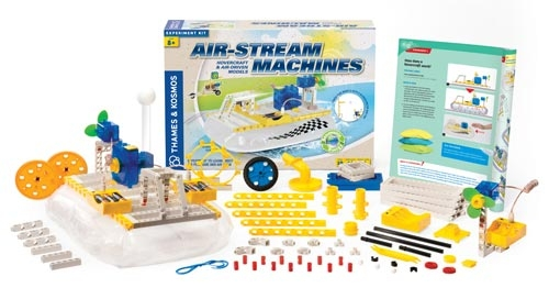 Learning: Science Physics Pressure Liquids Gasses - 17025 - Air-stream Machines Kit 17025