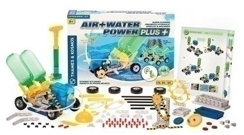 Learning: Science Physics Pressure Liquids Gasses - 17026 - Air+water Power Plus Kit 17026