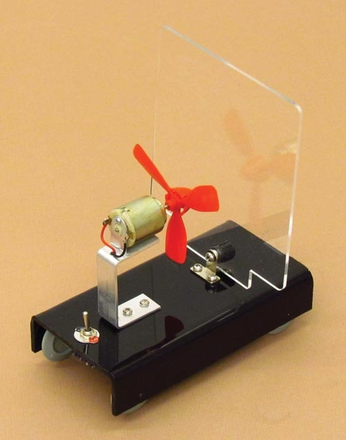 Learning: Science Physics Force Motion Force Motion Apparatuses Kits - 16878 - Fan Cart 16878