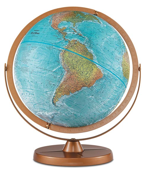 Learning: Science Earth Science Globes - 16862 - Geographic Table Globe 16862