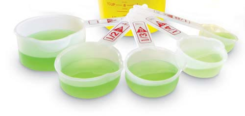 Learning: Science Lab Equipment & Supplies Measuring Tools Accessories Classroom Liquid Measuring Sets - 15709 - Standard Measuring Cups (set Of 5) 15709