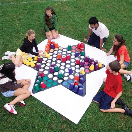 Learning: Play Active Play Active Games - 15656 - Flaghouse Giant Chinese Checkers 15656