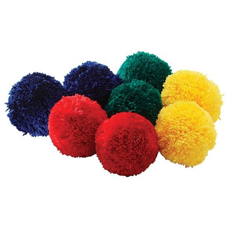 Sports & Fitness Physical Education & Sport Balls Therapy Balls - 841 - Fleece Balls 4'' Colored Set 841