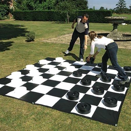 Learning: Play Active Play Active Games - 14615 - Giant Checkers 14615