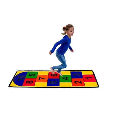 Learning: Play Active Play Carpets Color Carpets Calendar & Number Carpets - 3163 - Hopscotch Carpet 3163