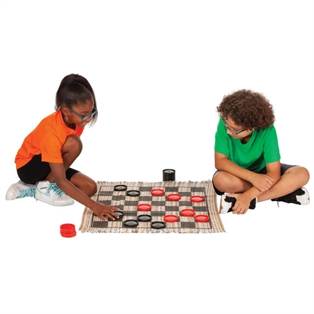 Learning: Play Active Play Active Games - 20431 - Jumbo Checkers 20431