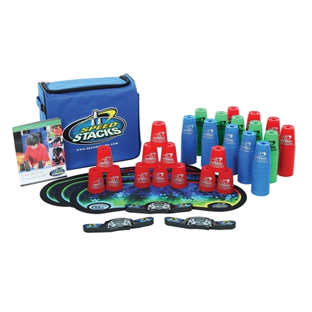 Sports & Fitness Physical Education & Sport Team Building Activities & Equipment Scooters & Scooter Activities - 18729 - Speed Stacks Sport Pack Of 15 Sets 18729