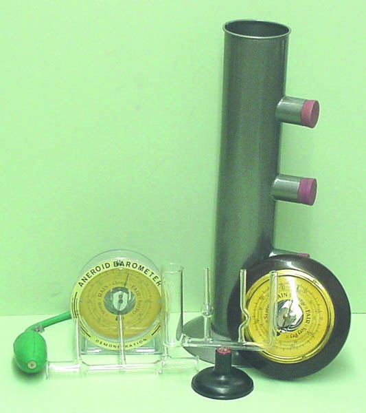 Physics Liquids And Air Pressure - Kt1007-1 - Concepts Of Air Pressure Kit KT1007-1