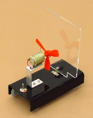 Learning: Science Physics Force Motion Force Motion Apparatuses Kits - 633-8 - Fan Cart 633-8
