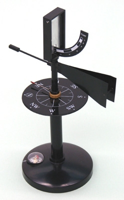 Learning: Science Lab Equipment & Supplies Measuring Tools Accessories Anemometers - 454-5 - Wind Vane Combo Anemometer 454-5