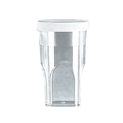 Learning: Science Lab Equipment & Supplies Aqueous Flat Cells Tissue Sample Cell - 722055 - Sample Cups For Coulter Counter With Lids; 20ml; Case Of 1000 722055
