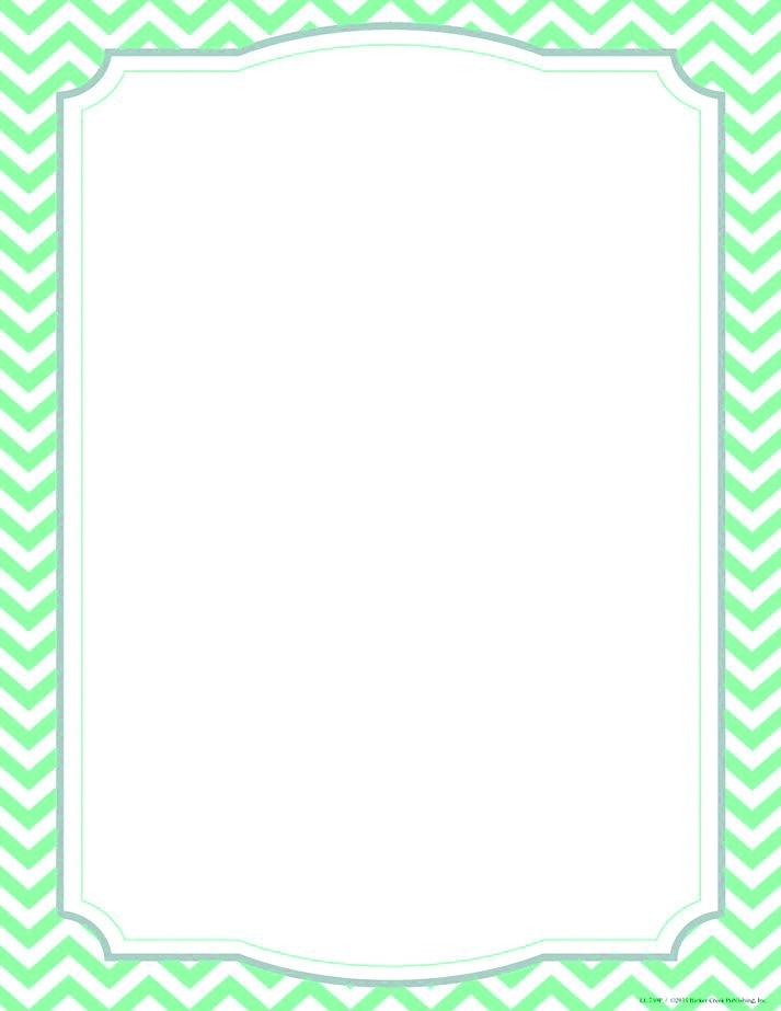 """Learning: Supplies Office Paper & Printer Learning Computer Paper & Printing Paper - 1497767 - Barker Creek Turquoise Chevron Computer Paper; 8-1/2"""" X 11""""; Pack Of 50 1497767"""