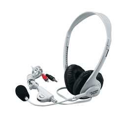 Recording Playback Headsets - 471269 - Califone 3064av Multimedia Stereo Headset With Microphone; For Use Windows/mac; Beige 471269