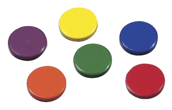 Learning: Classroom Arts & Crafts Glue & Adhesives Special Adhesives - 583086 - Dowling Miner Magnetics Hold Its Disk Magnets; 1 In; Set Of 8 583086