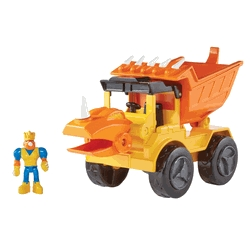 Learning: Play Manipulatives Building Blocks - 1499155 - Educational Insights Dino Construction Rocko The Styracousaurus Dump Truck 1499155