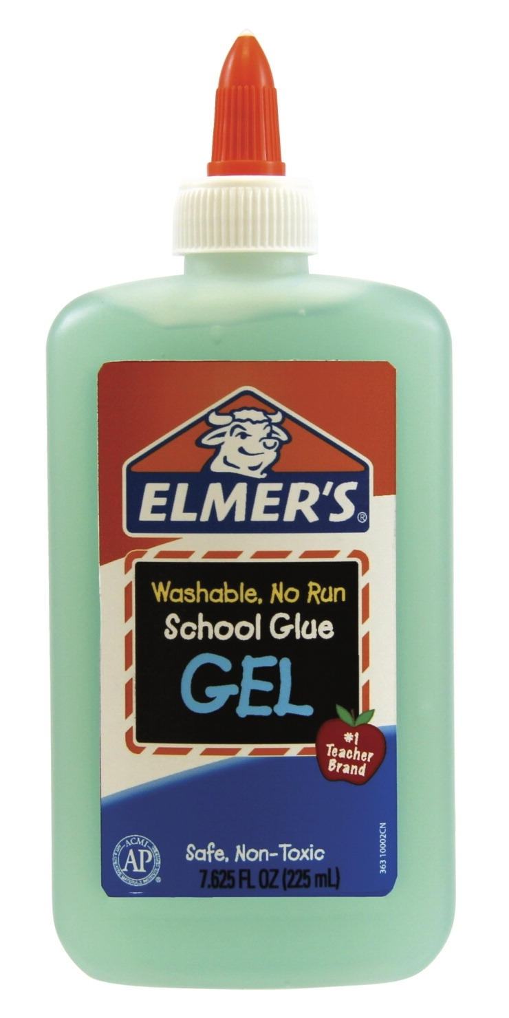 Learning: Science Lab Equipment & Supplies Bottles Containers Volumetric Flasks W Screw Tops - 1366809 - Elmer's Non-toxic Washable No Run School Glue Gel; 7-5/8 Oz Squeeze Bottle; Blue And Dries Clear 1366809
