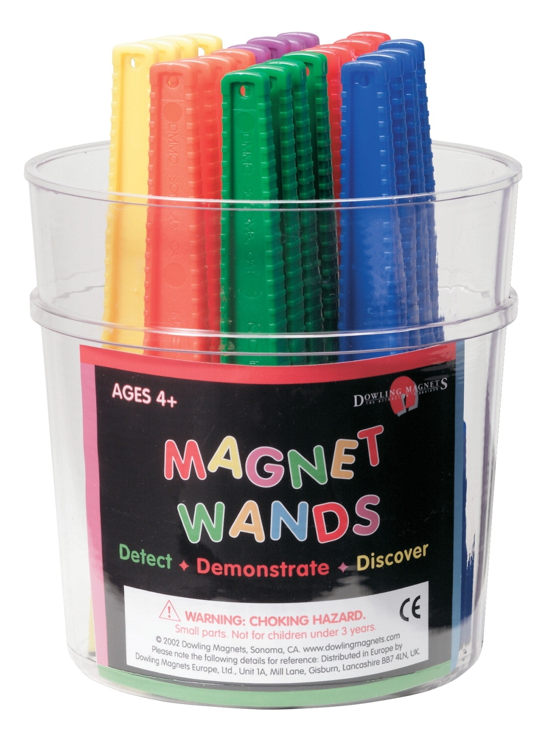 Learning: Science Physics Projects Lessons & Supplies Magnets & Magnetic Products - 583116 - Frey Scientific Magnetic Wands-pack Of 24 583116