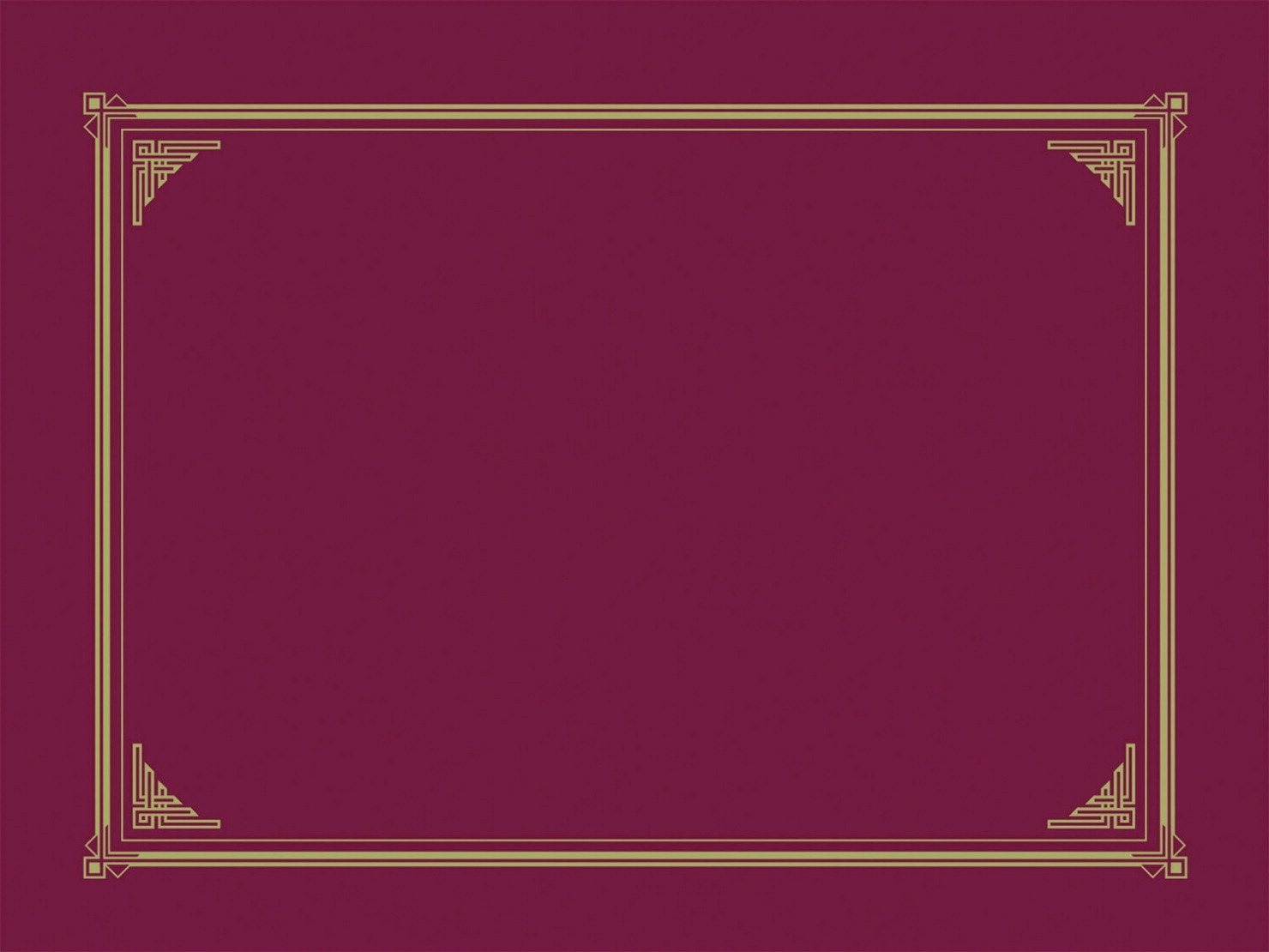Learning: Supplies Teacher Helpers Awards & Incentives Trophies Awards & Medals - 1441619 - Geographics Linen Texture Document Cover; Burgundy; Pack Of 6 1441619
