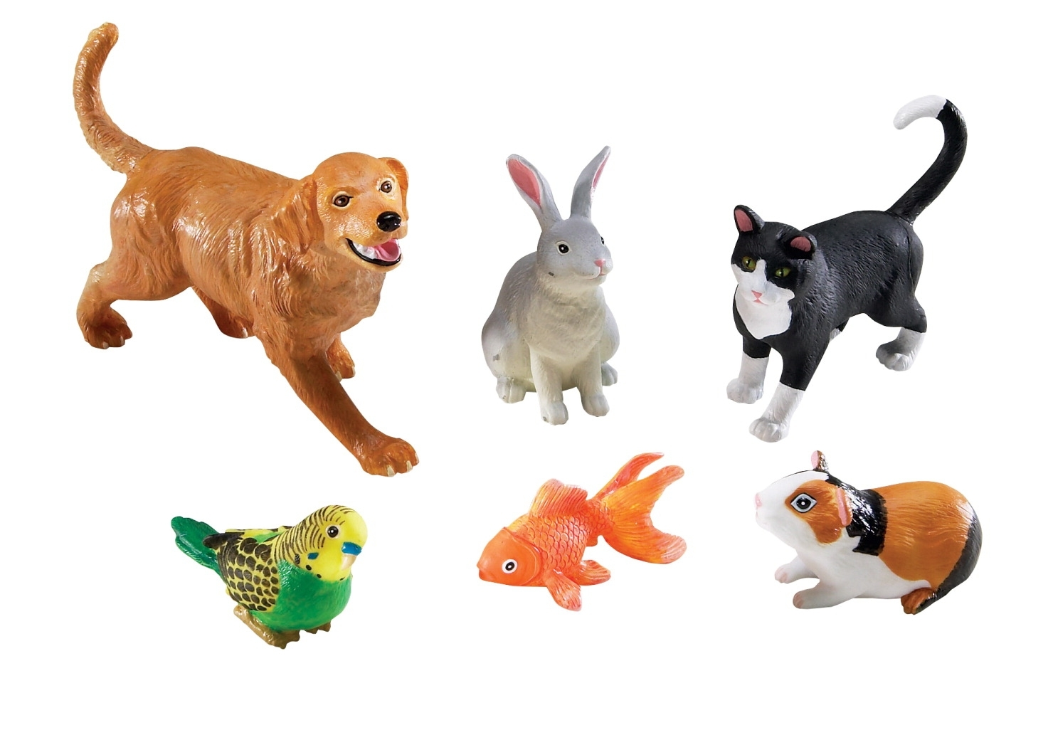 Learning: Supplies Dramatic Play Best Toys For Birthdays Puppet Bear Cub Jumbo Stuffed Animals - 205900 - Learning Resources Assorted Jumbo Pets; Set Of 6 205900