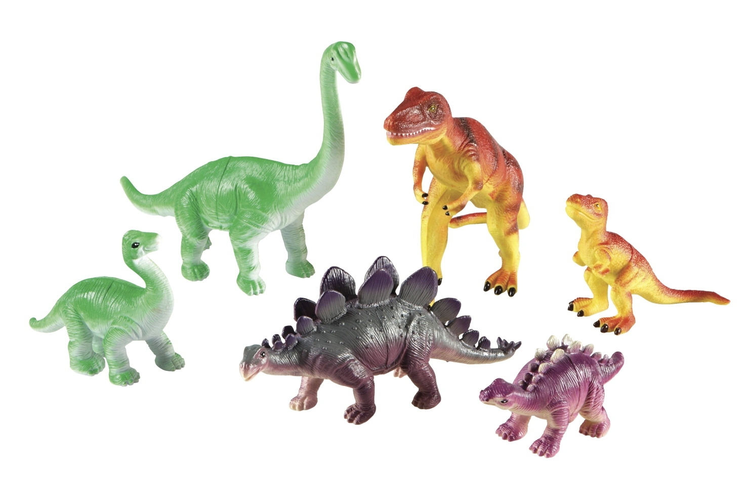 Learning: Supplies Dramatic Play Best Toys For Birthdays Puppet Bear Cub Jumbo Stuffed Animals - 1533481 - Learning Resources Jumbo Dinosaurs: Mommas And Babies; Set Of 6 1533481