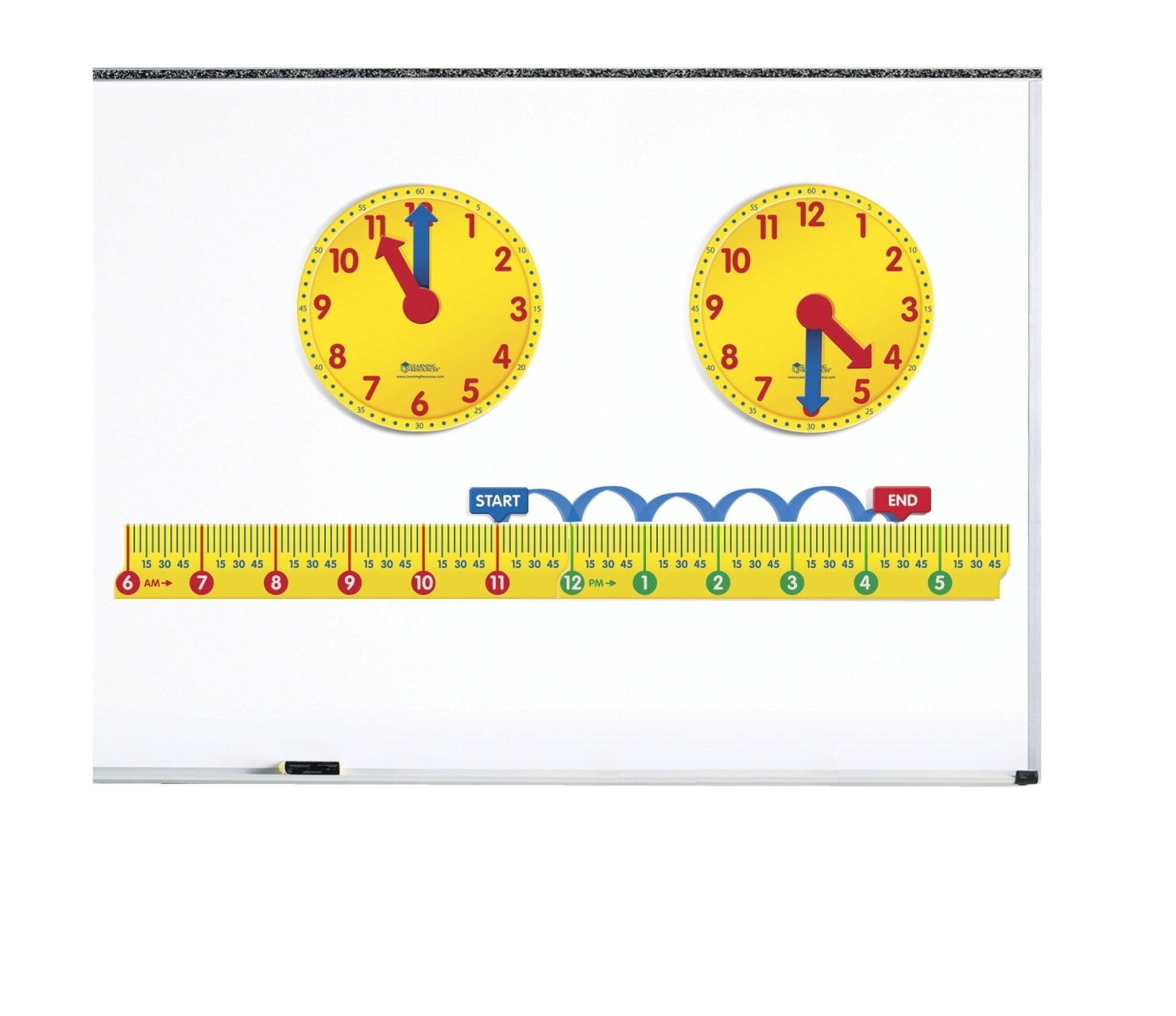 Learning: Science Physics Projects Lessons & Supplies Magnets & Magnetic Products - 1397800 - Learning Resources Magnetic Elapsed Time Kit 1397800