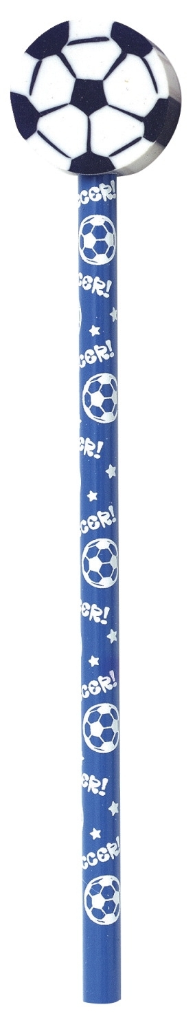 Learning: Supplies Awards & Incentive Award Pencils & Award Pens - 1493329 - Moon Products Sport Pencils With Ball Erasers; Assorted; Set Of 36 1493329