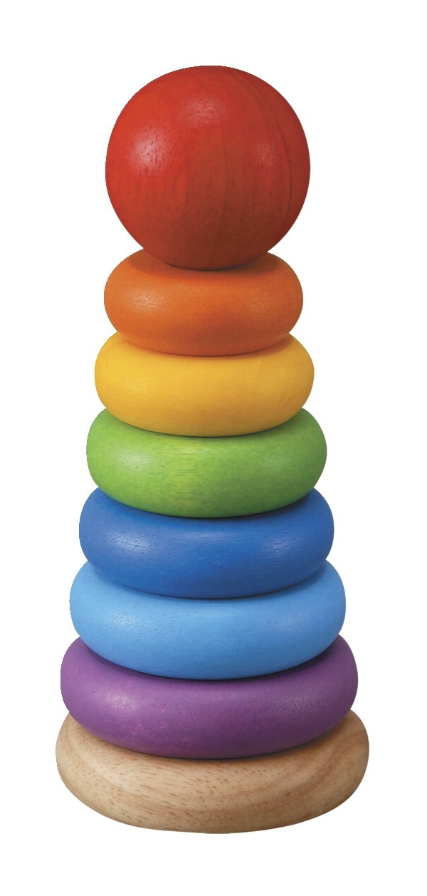 Learning: Play Early Childhood Active Play Gross Motor - 1401281 - Plantoys Stacking Ring 1401281