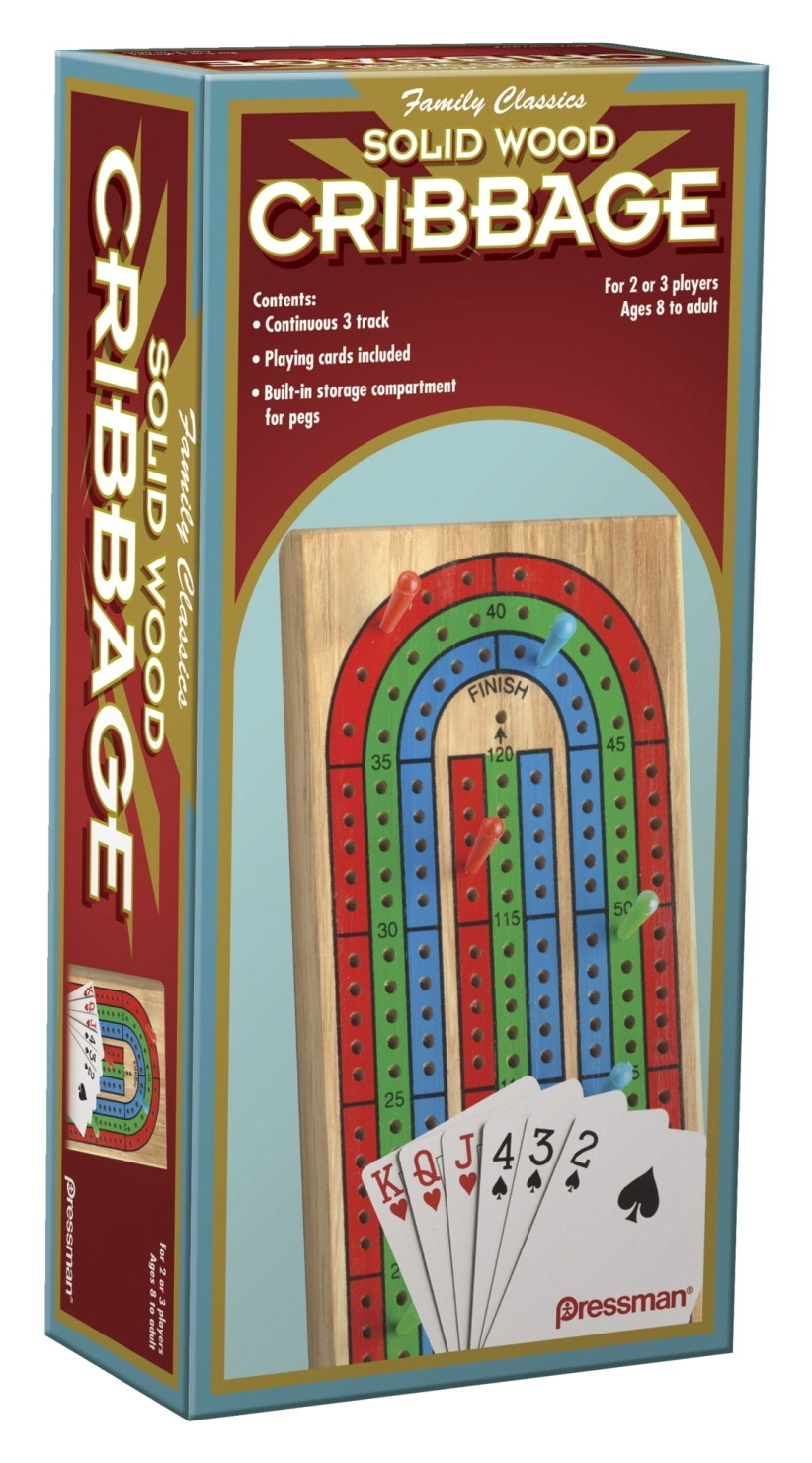 Learning: Supplies Bulletin Boards & Letter Boards Letter Boards & Directory Boards - 1567776 - Pressman Toy Cribbage Board With Cards 1567776