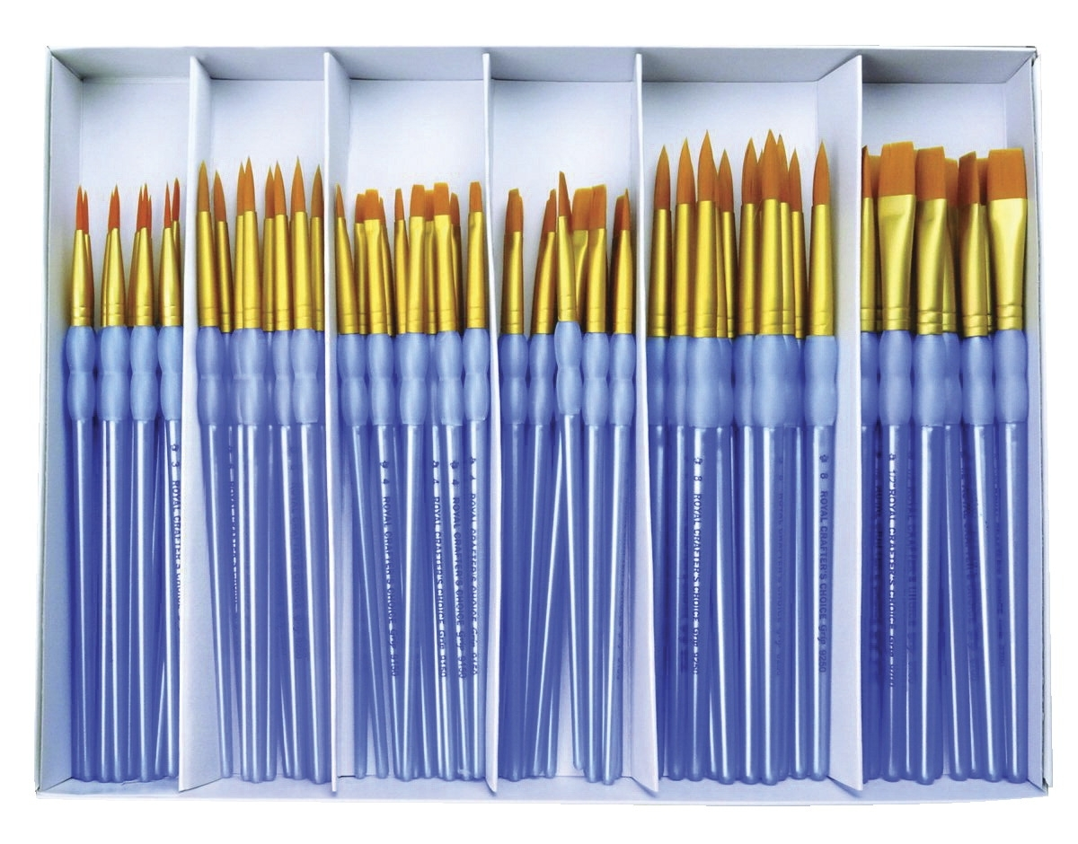 Learning: Supplies Art & Craft Supplies Paint Brushes & Supplies Synthetic Brushes - 1502730 -