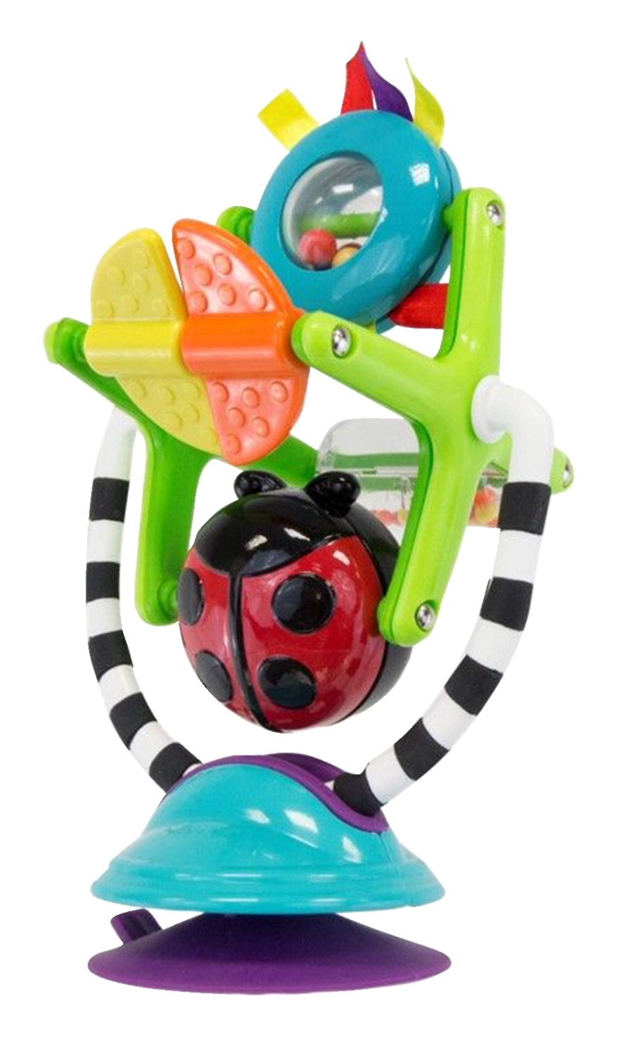 Learning: Play Early Childhood Active Play Gross Motor - 1336631 - Sassy Baby Sensation Station Suction Toy; Colors And Styles May Vary 1336631