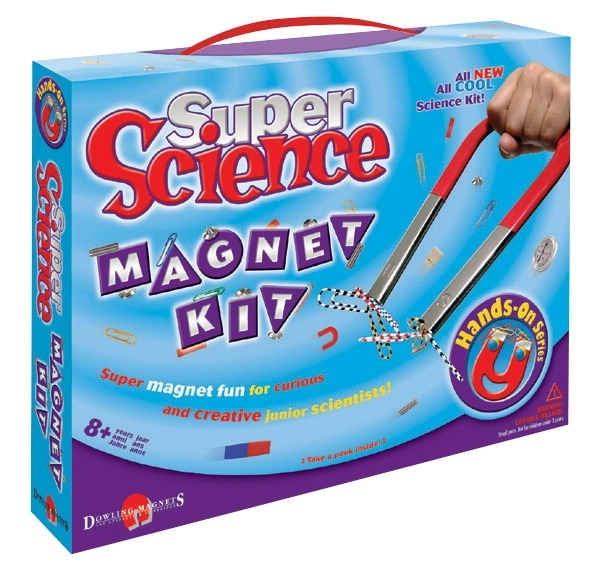 Learning: Science Physics Projects Lessons & Supplies Magnets & Magnetic Products - 236459 - School Specialty Super Science Magnet Kit 236459