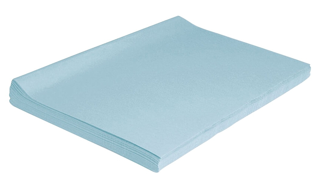 Learning: Classroom Arts & Crafts Paper & Boards Tissue Papers - 214872 - Spectra Deluxe Bleeding Tissue Paper; 12 X 18 Inches; Sky Blue; Pack Of 50 214872