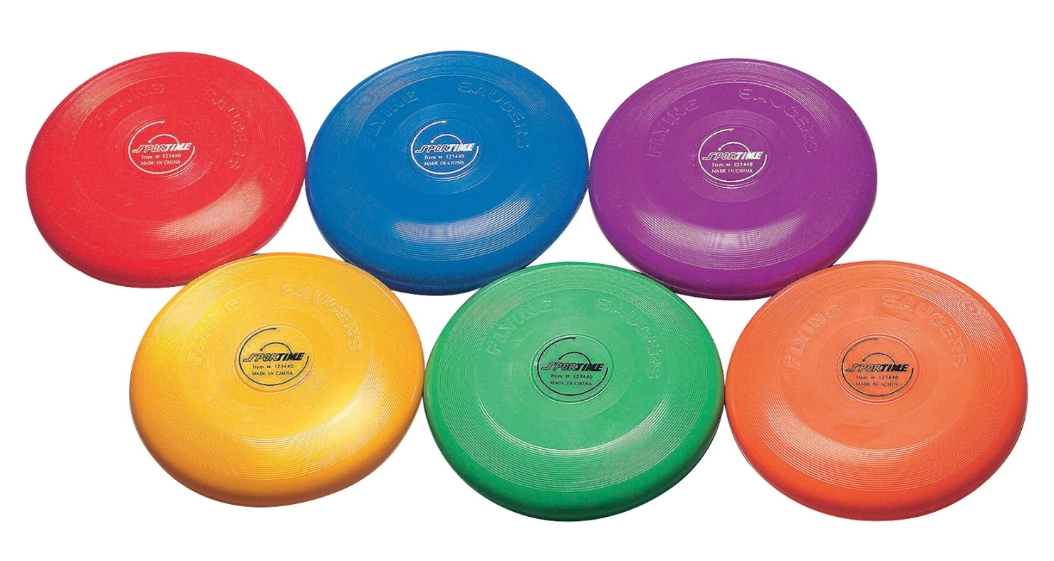 Sports & Fitness Physical Education & Sport Team Building Activities & Equipment Team Building Activities & Games - 1004695 - Sportime 9 In Flying Discs; Set Of 6 1004695