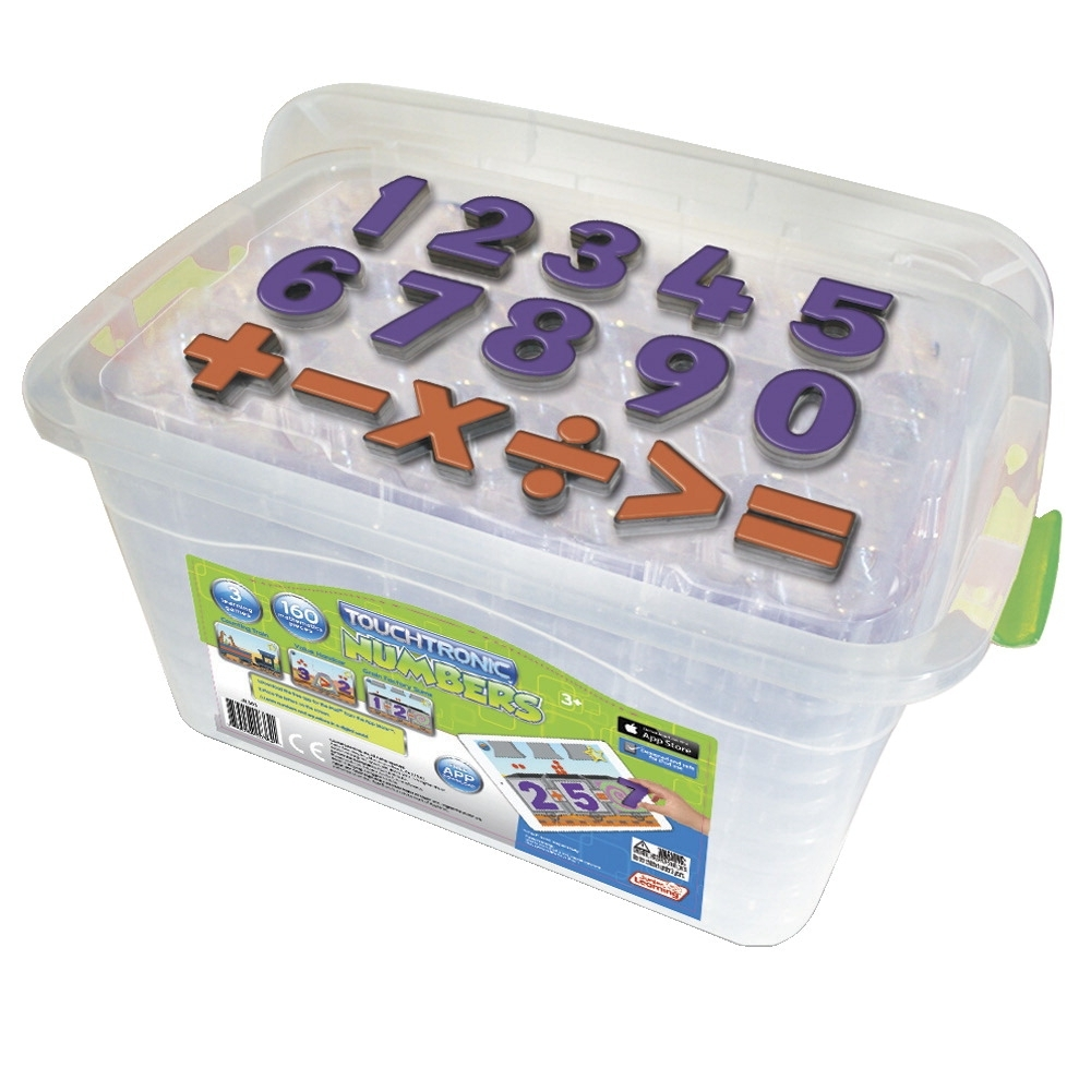 Sports & Fitness Physical Education & Sport Team Building Activities & Equipment Team Building Activities & Games - 1533221 - Touchtronic Numbers Classroom Kit; Set Of 160 1533221