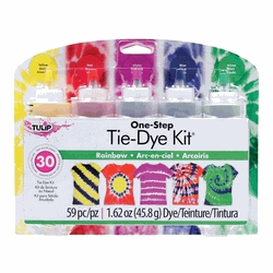 Learning: Classroom Arts & Crafts Crafts Fabrics - 1502467 - Tulip Tie-dye Kit; Assorted Colors; Set Of 5 1502467