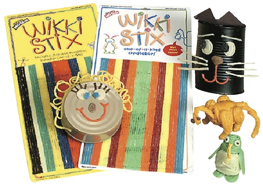 Learning: Supplies Art & Craft Supplies Ceramics Sculpting Supplies - 201236 - Wikki Stix Wax Set; 8 Inches; Assorted Primary Colors; Set Of 48 201236