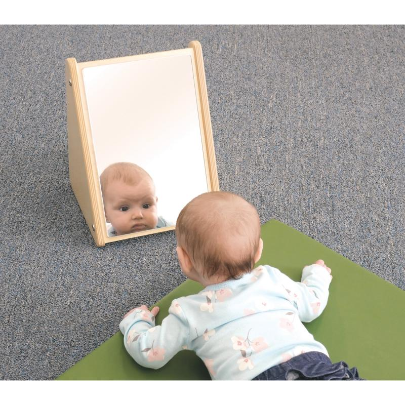Safety Safety: Equipment Glassless Mirrors Free Standing Mirrors & Stands - Wb2112 - Infant Mirror Stand WB2112