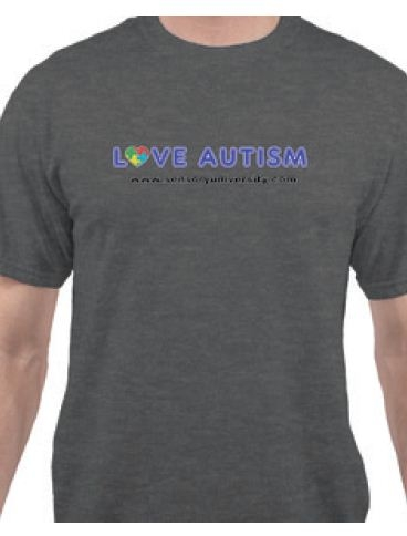 Sports & Fitness Physical Education & Sport Team Building Activities & Equipment Team Building Activities & Games - Lagray - Love Autism Shirt Gray Large LAGRAY