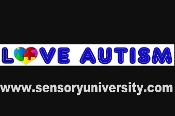 Sports & Fitness Physical Education & Sport Team Building Activities & Equipment Team Building Activities & Games - Love Window Decal - Love Autism Window Decal LOVE WINDOW DECAL