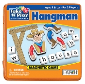 Learning: Classroom Reading & Writing Resources Word Family Activities & Books - Ptch 673 - Take And Play Anywhere Hangman Game PTCH 673