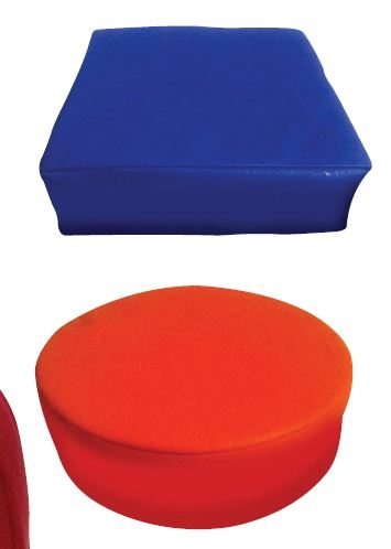 Learning: Classroom Sensory Solutions - Vpro - Senseez Vibrating Pillow Red Octagon VPRO