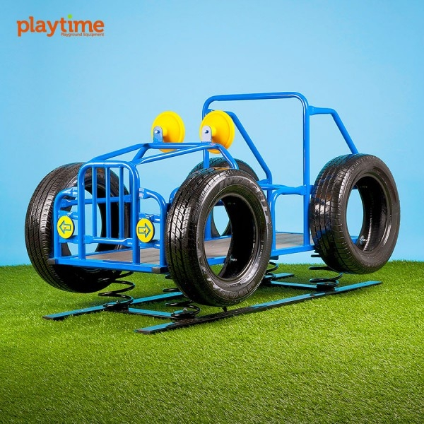 Preschool Learning: Play Playground Riding & Spring Toys - 11581r - Spring Jeep 11581R