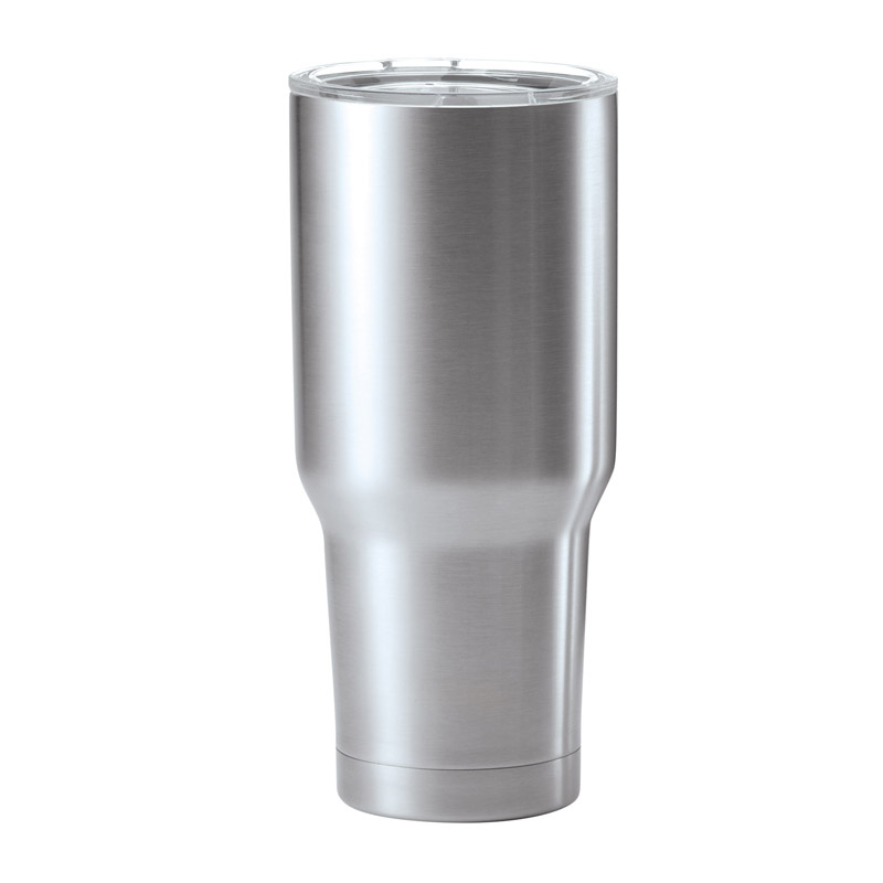 30 Ounce Stainless Steel Double Wall Travel Mug Tumbler - Hw632 - Awards Trophy Eagles Without Plates HW632