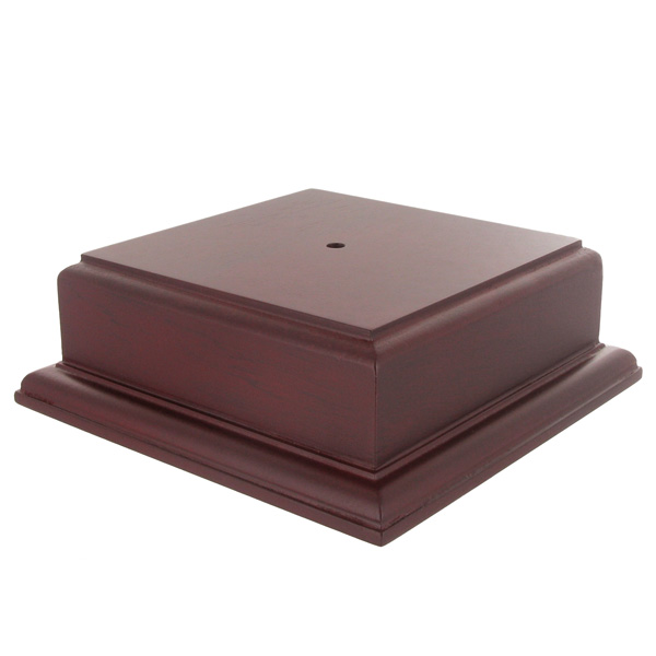 5 X 2-1/8 Rosewood Finish Base For Bowl Or Cup - Xu3173ro - Awards Trophies XU3173RO