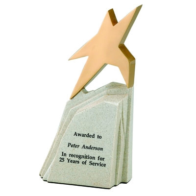 8-1/2 X 4-1/2 Inch Rising Star Trophy - X9058 - Trophies And Awards Component Parts X9058