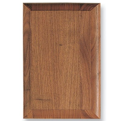 8-1/4 X 10-1/4 Walnut Plaque With Bevel - Xg656 - Wood Plaques And Simulated XG656