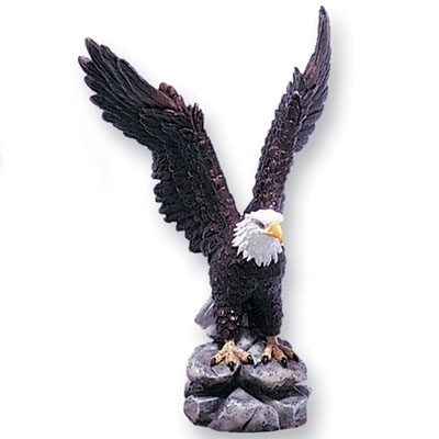 Awards Trophy Eagles Without Plates - X8477 - Colored Resin Eagle 8-1/2 X8477