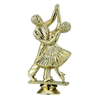 Dancing Couple Trophy Figure - F29246g - Sports Figures And Risers Plastic Sport F29246G