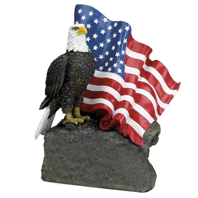 Eagle Flag Trophy No Plate - X8877 - Awards Eagles Without Plates X8877