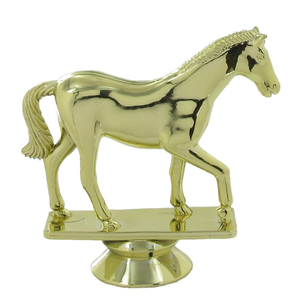 Horse Trophy Figure - F29594g - Trophies And Awards Sports Figures F29594G